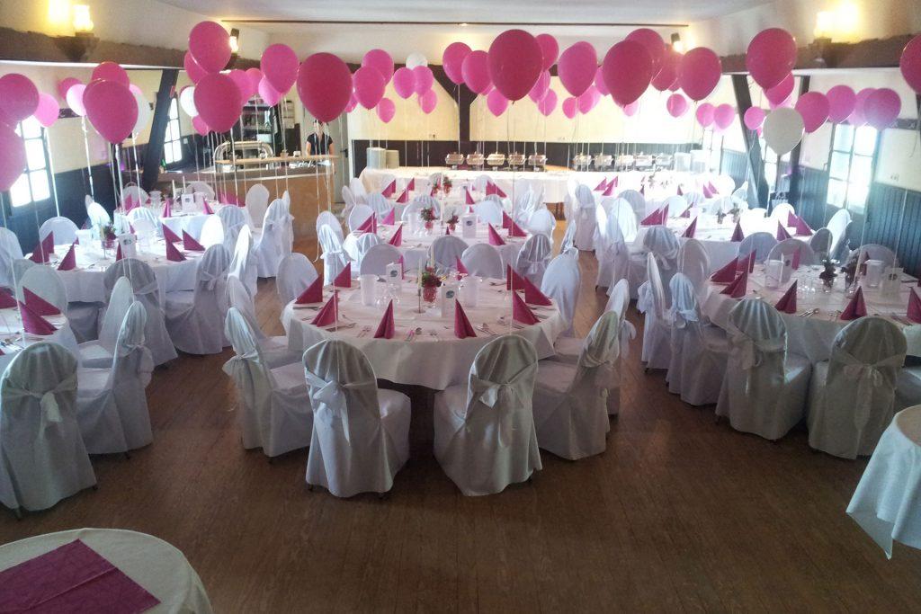 Hochzeitsfeier im Festsaal