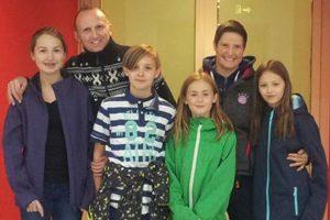 Andreas und Berit Herchenbach mit Familie